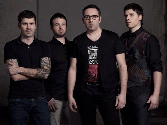 ILE formado por Aritz, Álvaro, Txema y Jon, de izquierda a derecha.