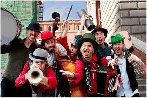 La banda madrileño La  Malarazza. Fotografía cedida por el grupo.