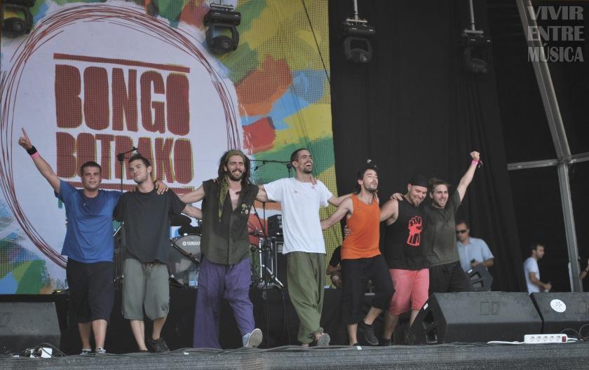 Bongo Botrako en el Arenal Sound 2012