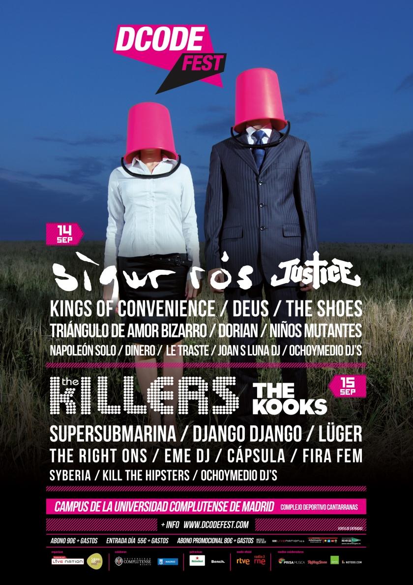 Cartel del DCode Festival 2012