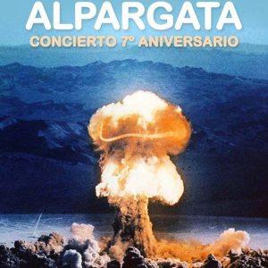Cartel del 7 aniversario de Alpargata