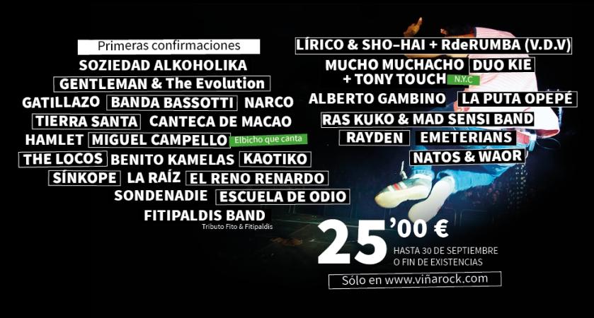 Primeras confirmaciones Viña Rock 2014Primeras confirmaciones Viña Rock 2014Primeras confirmaciones Viña Rock 2014