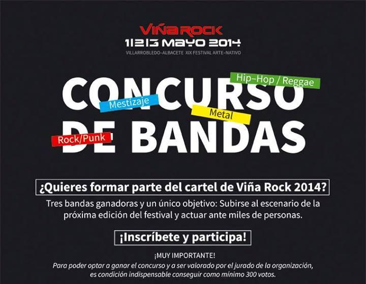 Concurso de bandas Viña Rock 2014