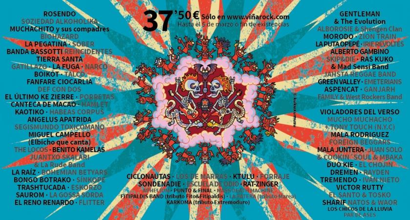 Nuevas confirnaciones Viña Rock 2013 a febrero