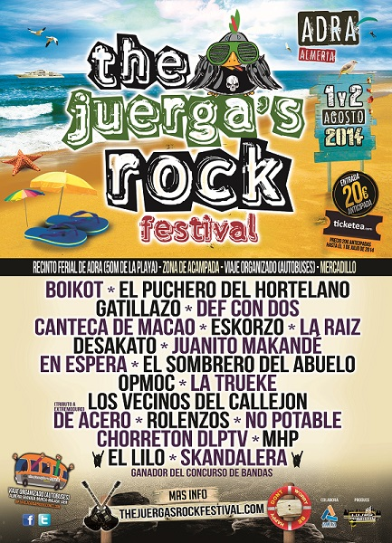 Cartel The Juerga's Rock Festival